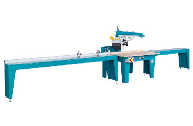 With optional 2m roller track table